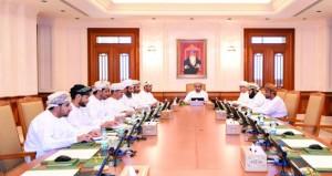 مكتب مجلس الشورى يناقش عددا من الردود الوزارية الواردة إليه