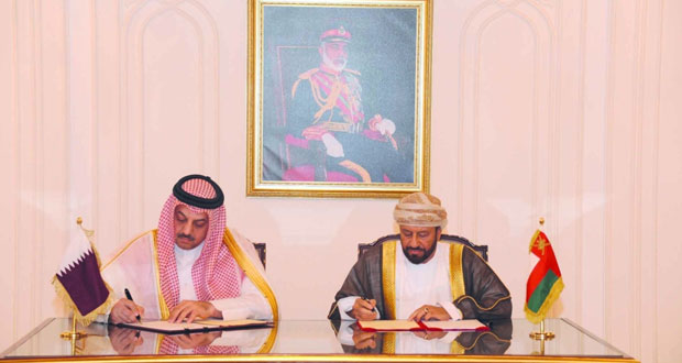 الوزير المسؤول عن شؤون الدفاع يستقبل وزير الدولة لشؤون الدفاع القطري