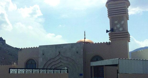 المدعي العام يفتتح مسجد مرتفعات ثميد ببدبد على مساحة (1097) مترا مربعا