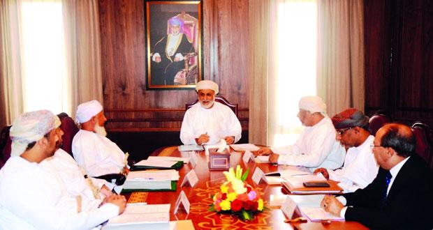 وزير العدل يترأس اجتماع أعضاء مجلس المعهد العالي للقضاء