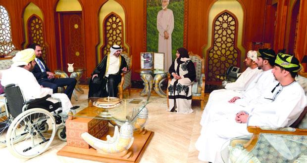 عائشة السيابية تستقبل وفداً من الشبكة الإقليمية للمسؤولية الاجتماعية