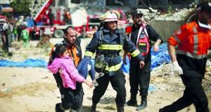 المقاومة تشيد بعملية القدس والاحتلال يناور على تخوم غزة والأخيرة تتأهب
