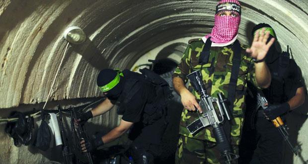 (حماس) تتعهد بالكشف عن تفاصيل جديدة حول نفق هجومي زعمت إسرائيل اكتشافه