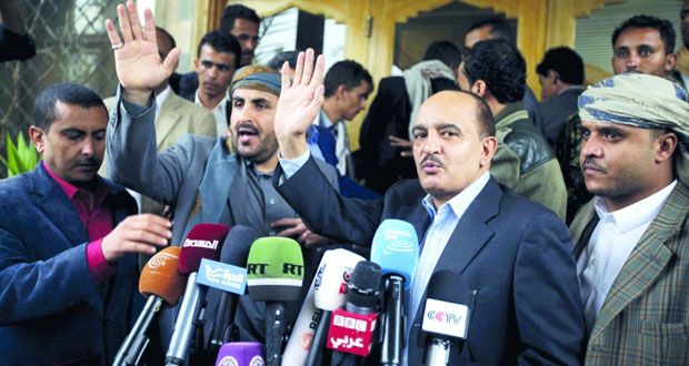 الأزمة اليمنية: وفد الحوثيين المفاوض إلى الكويت للمشاركة في محادثات السلام