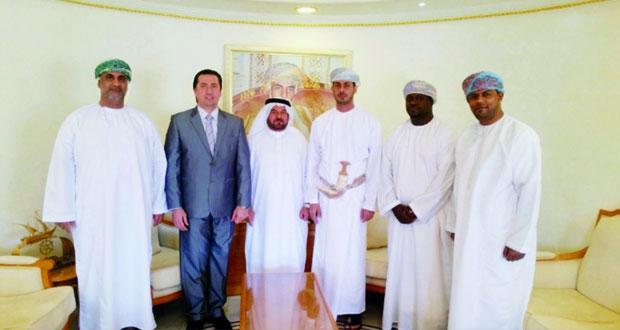 زيارة مثمرة للاتحاد البارالمبي لمنطقة غرب آسيا للجنة البارالمبية العمانية