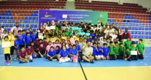 ختام ناجح لمهرجان براعم كرة اليد للأيام الرياضية للمدارس الحكومية والخاصة