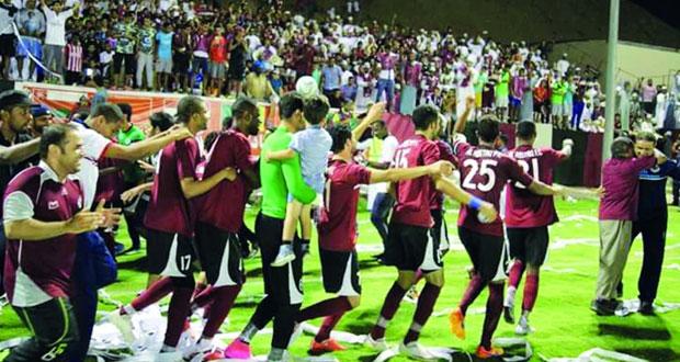 الرستاق يتوج بطلا للدرجة الأولى لكرة القدم ويتأهل رسميا لدوري المحترفين