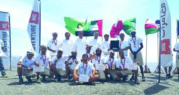 مشاركة ناجحة للمغامرين العمانيين في بطولة الخليج العربي للمسير الجبلي بإمارة رأس الخيمة