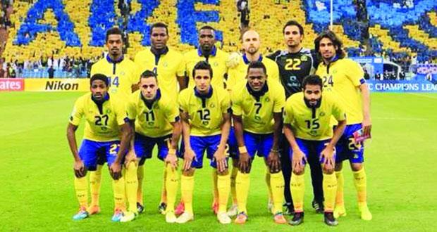 النصر السعودي في مواجهة ذوب اهان الإيراني في منافسات أبطال آسيا