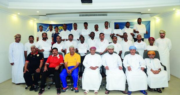 ختام ناجح لفعاليات دورة المدربين الآسيوية B فى كرة القدم