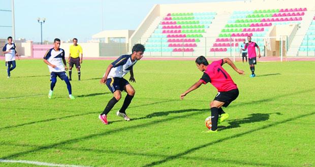 نهائي مثير بين مجان و الخليج في ختام بطولة مؤسسات التعليم العالي في كرة القدم