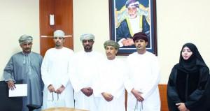 وزارة الشؤون الرياضية تكرم لاعبي المنتخب الوطني للشطرنج