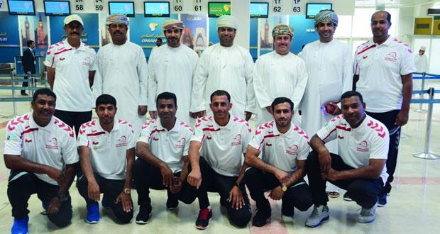 منتخبنا الوطني يغادر للمشاركة بكأس العالم لالتقاط الأوتاد بالقاهرة