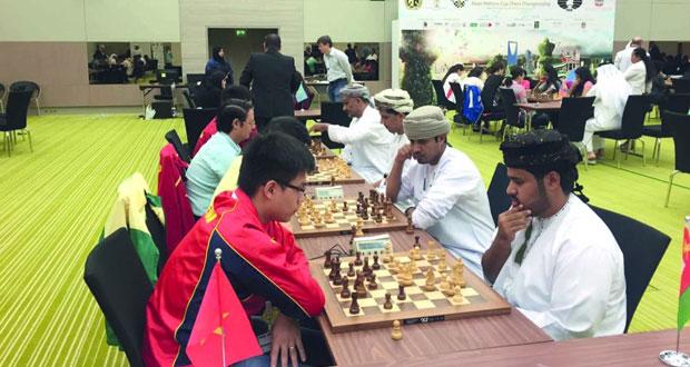 برونزية للسلطنة في كأس أمم آسيا للشطرنج