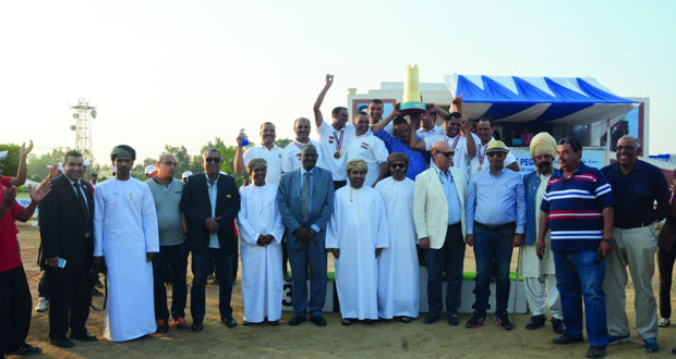 اختتام فعاليات النسخة الثانية لبطولة كأس العالم لالتقاط الأوتاد بالقاهرة