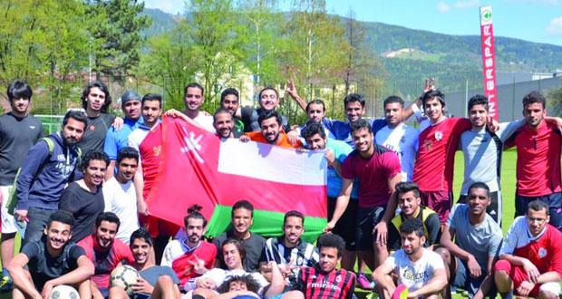 ختام البطولة الكروية لطلبة السلطنة بمدينة ليوبن النمساوية