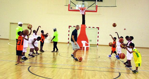 نجاح كبير للمهرجان الأول لمراكز إعداد براعم كرة السلة بمشاركة 60 لاعبا