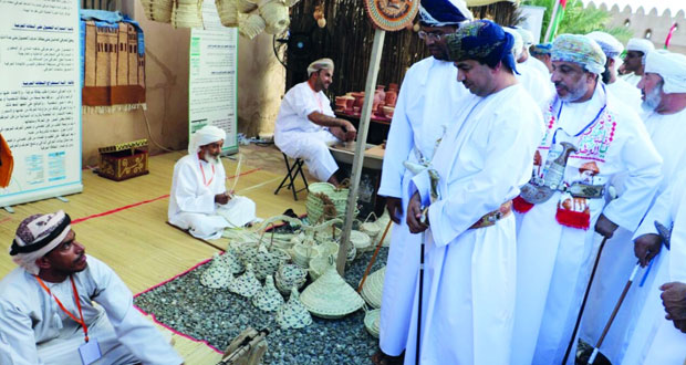 اختتام فعاليات القرية التراثية بحصن جبرين