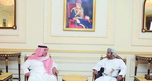 وصول قادة القوات البرية لدول مجلس التعاون لدول الخليج العربية إلى السلطنة