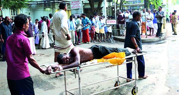 الهند: حريق يلتهم 106 قتلى
