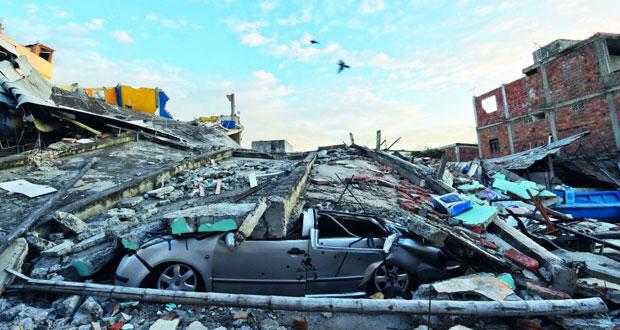 ارتفاع ضحايا زلزال الإكوادور لـ350 قتيلا واليابان تتجه لجعل (الجنوب) منطقة كوارث