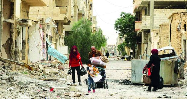 سوريا: أهالي تدمر يبدأون العودة والسلطات تنقذ قطعا أثرية