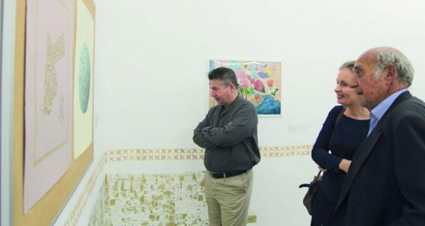 """معرض """"ارتقاءات طوليّة"""".. التفاعل مع الفنون التقليديّة بطريقة عصرية"""