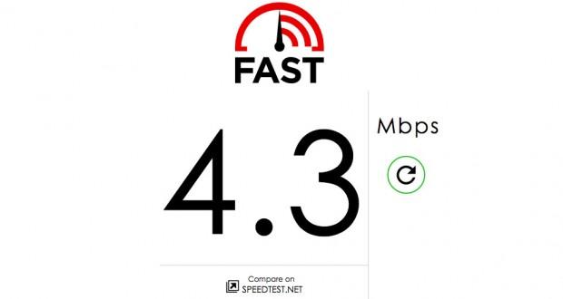 Fast.com موقع جديد من نتفلكس لقياس سرعة الإنترنت