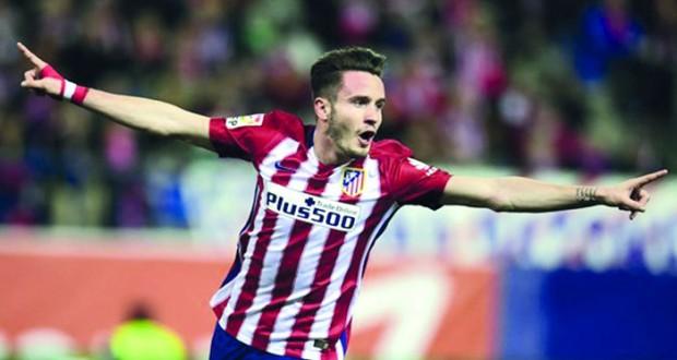 ساوول نيجويز يمدد عقده مع اتلتيكو مدريد حتى 2021