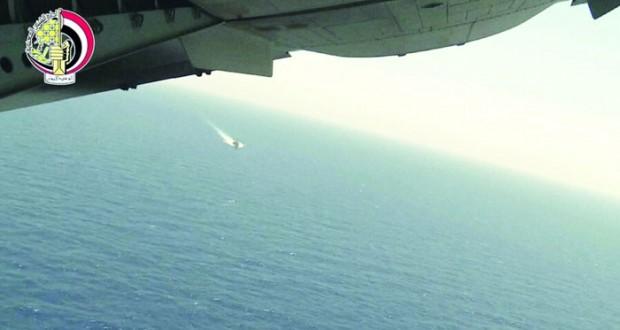 مصر: العثور على حطام الطائرة المنكوبة واستمرار عمليات التمشيط