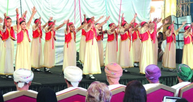 تدشين الفعالية الدولية «نداء السلام » بمركز جراند مول مسقط