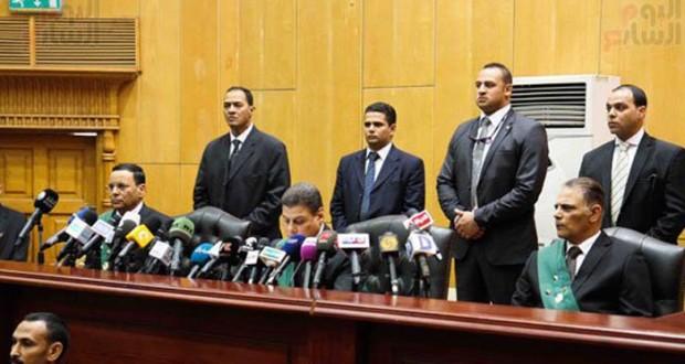 مصر: الاعدام لـ 6 متهمين بقضية التخابر ليس بينهم مرسي