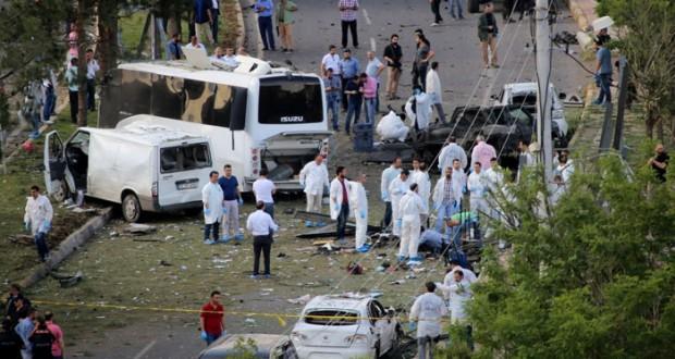 تركيا: جرحى بانفجار استهدف الشرطة بديار بكر