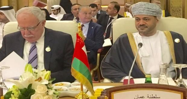 السلطنة تتطلع إلى التوصل لاتفاقية لتحرير التجارة الصينية الخليجية وتدفق أكبر للاستثمارات