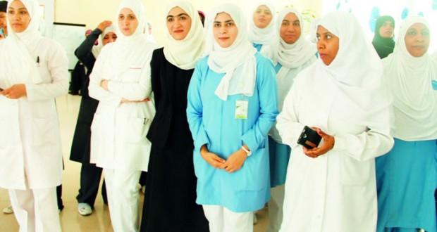 مستشفى المسرة ينظم فعالية احتفالية بمناسبة اليوم العالمي للتمريض
