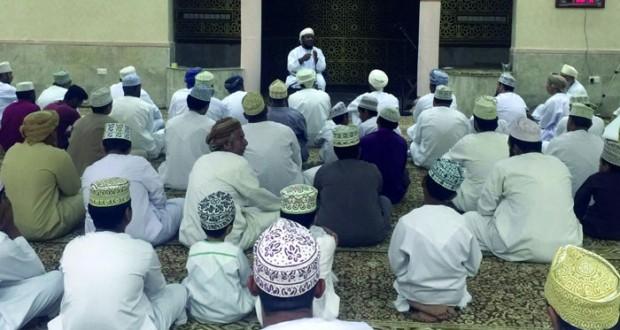 افتتاح مسجد الوارث بالمعبيلة الجنوبية