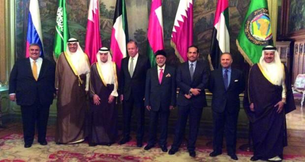 وزراء خارجية (التعاون) يبحثون مع لافروف سبل تسوية النزاعات في المنطقة