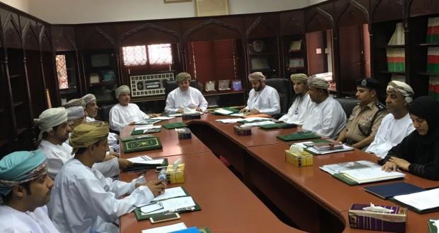 اجتماع اللجنة الصحية بقريات