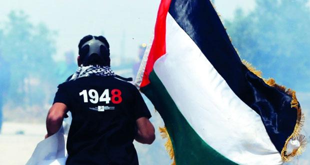 الاحتلال ومستوطنوه يصعدون إرهابهم .. وإصابات بقمع مسيرات إحياء النكبة