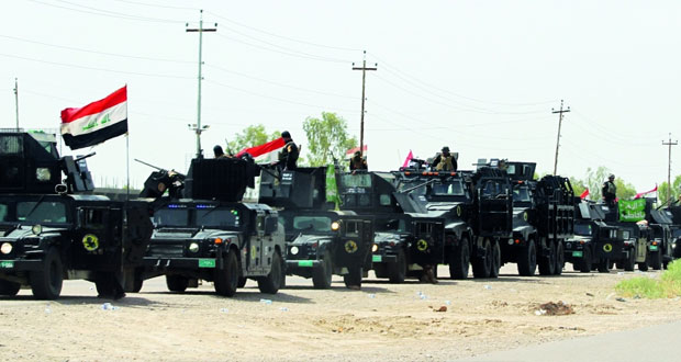 العراق : قتلى فـي هجوم انتحاري بالفلوجة وقناصة «داعش» يحاصرون المدنيين