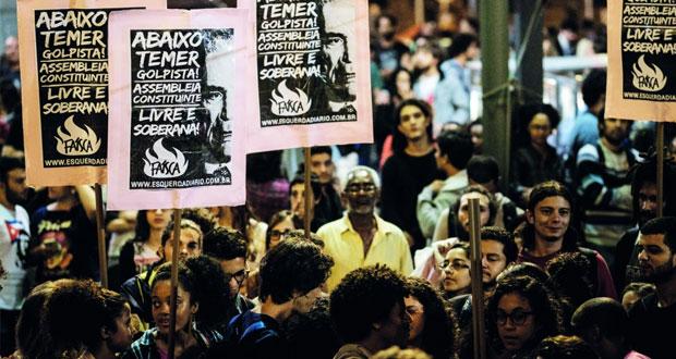 أزمة البرازيل: روسيف تتهم نائبها بـ(الخيانة) وتعتبر حكومته بـ (غير شرعية)