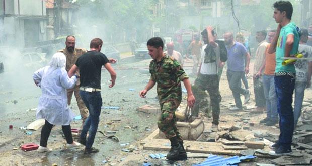 سوريا: قتلى وجرحى في هجوم إرهابي على حلب .. والجيش يتصدى