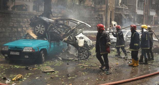 سوريا: قذائف المسلحين تغتال 14 مدنيا وتسقط عشرات الجرحى بأحياء حلب .. والاستهداف يطول المشافـي