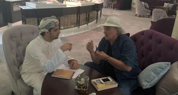 فيصل العلوي ضمن المؤهلين للفوز بجائزة الصحافة العربية في فئة الحوار