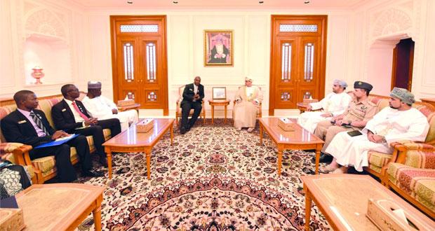 وفد كلية الدفاع الوطني النيجيرية يزور مجلسي الدولة والشورى