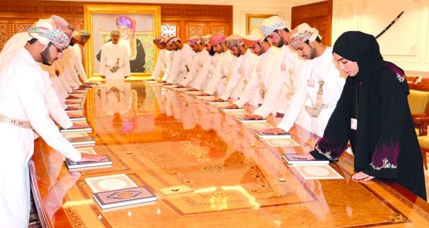 25 من أعضاء جهاز الرقابة المالية والإدارية للدولة يؤدون اليمين القانونية
