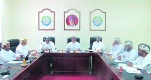 مجلس إدارة غرفة مسندم يناقش المستجدات على الساحة الاقتصادية