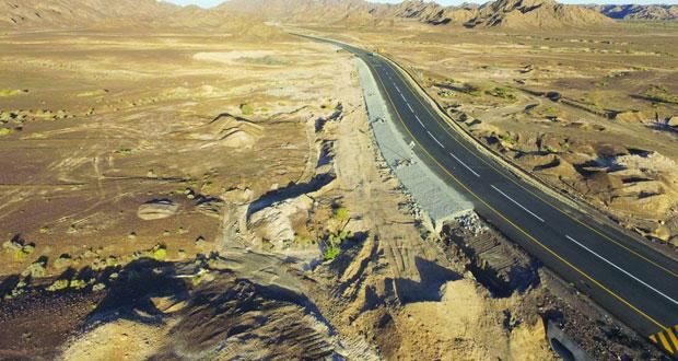 """""""النقل والاتصالات"""" تفتتح طريق سمد الشأن ـ وادي عندام"""