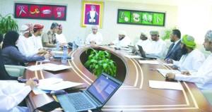 اجتماع اللجنة الاستشارية لإعداد الاستراتيجيات المتعلقة بتطوير مراكز سند للخدمات