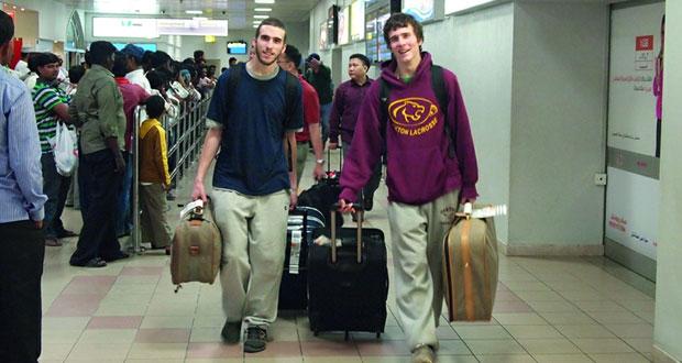 3.8 مليون مسافر عبر مطار مسقط الدولي بنهاية أبريل الماضي